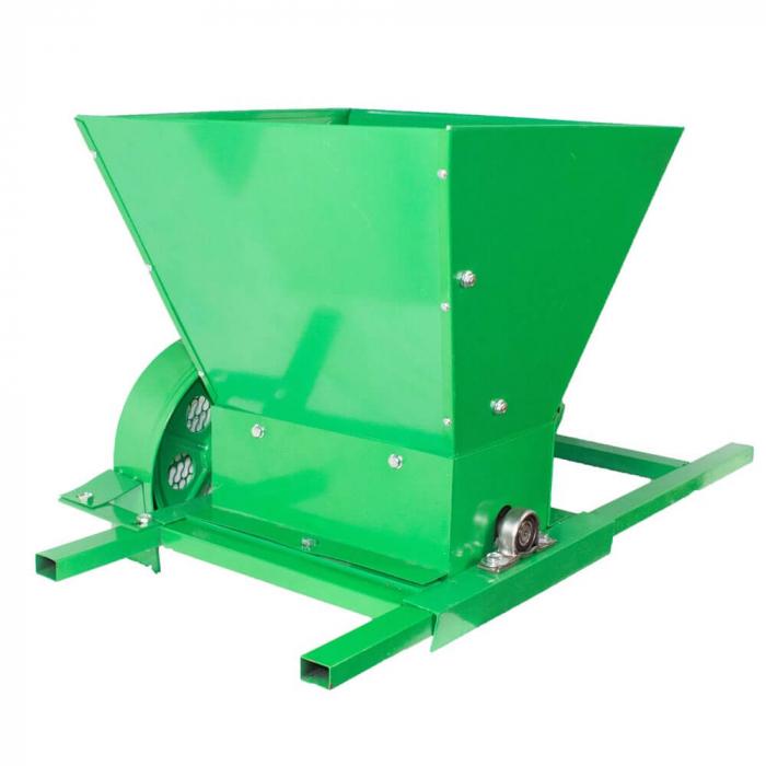 Zdrobitor / tocator electric de fructe si legume, 300 - 500 kg/h, cuva 35L, 1.8kW, Fermax, Model 2021 [5]