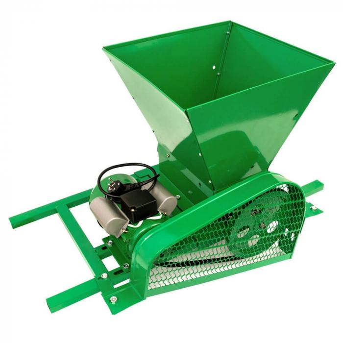 Zdrobitor / tocator electric de fructe si legume, 300 - 500 kg/h, cuva 35L, 1.8kW, Fermax, Model 2021 [0]