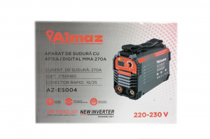 Aparat Sudura ALMAZ 270A ( AZ-ES004 ) + Accesorii , Invertor , Model nou9