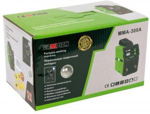 APARAT DE SUDURA CU MMA INVERTOR 300A, 230V, DIAMETRU ELECTROD 1.6-4MM, CAMPION MMA-300A MINI-VERDE2