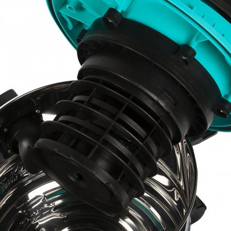 Aspirator umed / uscat Detoolz 1250W, Inox, 25L4