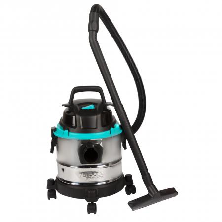 Aspirator umed / uscat Detoolz 1250W, Inox, 25L0