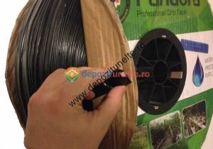 Banda picurare profesionala 1000m/rola, 3 litri/h, distanta orificii de picurare 20cm