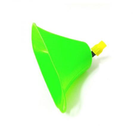 Clopot pentru erbicidat MARE - Palnie clopot pentru erbicidat, aparatoare stropire, filet interior, transparenta, mare [0]