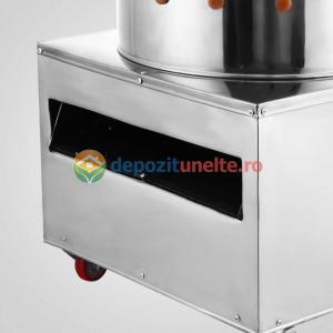 Deplumator electric automat PROFESIONAL jumulitor pentru pasari 230V - 1500W3