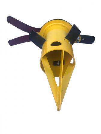 Dozator big bag Grandepo 2021 cu flansa pentru conectare furtun [9]