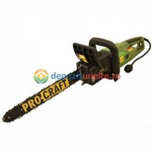 Drujba electrica 2600W, 450mm, Procraft K2600, Fierastrau cu lant Model 20195