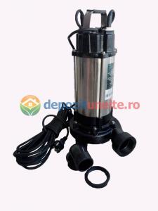 Pompa apa submersibila WQD1500DF 1500W cu tocator Deetoolz1