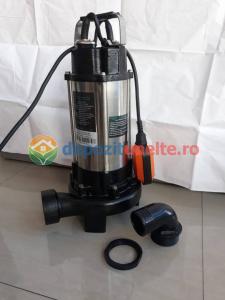 Pompa apa submersibila WQD1500DF 1500W cu tocator Deetoolz4