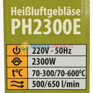 FEON INDUSTRIAL PROCRAFT PH2200E, 2200W, 500°C4