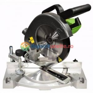 Fierastrau circular cu suport Procraft PGS2100, diametru disc 210 MM, 220 V, 2100W0