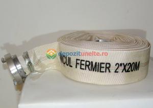 """Furtun Pompier insertie textila+cauciuc 2"""" lungime 20m3"""