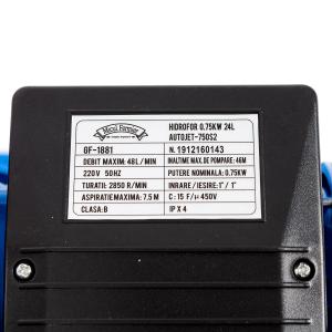 Hidrofor Micul fermier  autoamorsare 0,75KW 24L AUTOJET-750S23