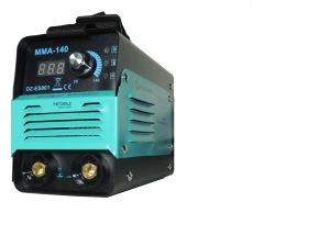 Invertor de sudura ULTRAPORTABIL - DZ-ES001 supraventilat, clasa compacta, Tehnologie IGBT- MMA-140 A cu functie de protectie la functionarea la mersul in GOL (  Modul VRD) + HOT START + ANTISTICK + A9