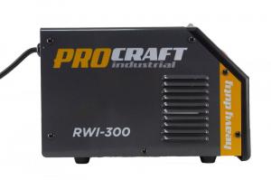 Invertor MMA Procraft RWI 300, Profesional, Heavy Duty, Racire fortata, electrozi 4 mm2