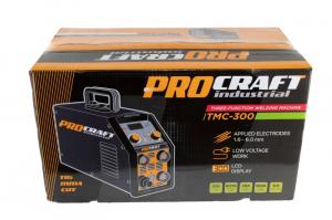 Invertor Plasma Procraft TMC 300, 3 in 1, MMA, TIG + Accesorii, Gama Profesionala3