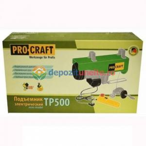 MACARA ELECTRICA PROCRAFT TP500, 1020W, 500KG, PALAN SCRIPETE ELEVATOR5
