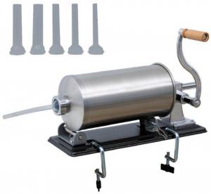 Masina de carnati 5.5kg ORIZONTAL MICUL FERMIER (YG-2010PA) + 5 PALNII + MANUSI1