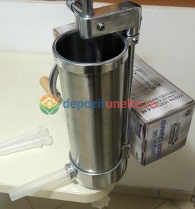 Masina de facut carnati 3kg Micul Fermier - Vertical2