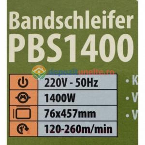 Masina de slefuit ProCraft PBS1400, 120-260 m/min, 457 mm x 76 mm, 1400W4