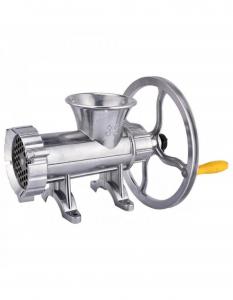 Masina de tocat carne din aluminiu Campion Nr. 32 1500W cu palnie CMP-02781