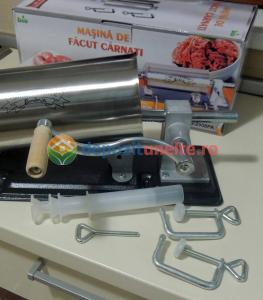 Masina de umplut carnati 4kg Micul Fermier - Orizontal10
