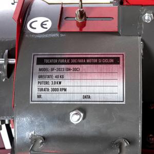 Moara cereale + Tocator furaje (2 In 1) OH-30C, cu TURBINA CICLON, fara motor, fara ciclon12