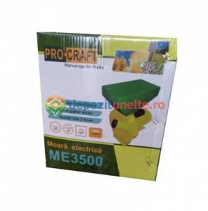 Moara electrica Procraft ME3500, 3.5 Kw, 3000RPM, 200KG/H, bobinaj 100% cupru5