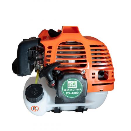 Motocositoare pe benzina Fermax FX 4300 Model 2021, 2 timpi, 43CC, 5 Cp, 10.000 rpm [2]