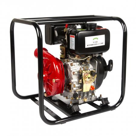 Motopompa diesel de presiune, putere 7 CP, Diesel, absortie/refulare 2''/2'' (50 mm) , pornire la sfoara,motor in 4 timpi, presiune 6 bari3