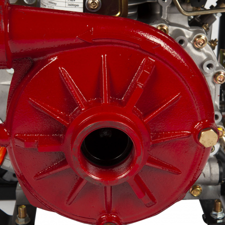 Motopompa diesel de presiune, putere 7 CP, Diesel, absortie/refulare 2''/2'' (50 mm) , pornire la sfoara,motor in 4 timpi, presiune 6 bari2