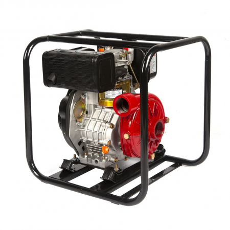 Motopompa diesel de presiune, putere 7 CP, Diesel, absortie/refulare 2''/2'' (50 mm) , pornire la sfoara,motor in 4 timpi, presiune 6 bari0
