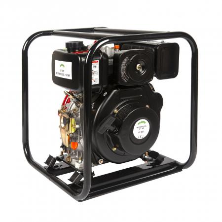 Motopompa diesel de presiune, putere 7 CP, Diesel, absortie/refulare 2''/2'' (50 mm) , pornire la sfoara,motor in 4 timpi, presiune 6 bari5
