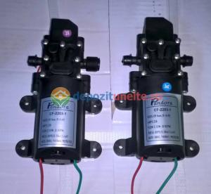 Pompa de presiune cu motor de 12 Vcc pentru pompa de stropit electrica Pandora - iesire pe ștuț2