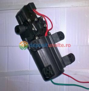 Pompa de presiune cu motor de 12 Vcc pentru pompa de stropit electrica Pandora - iesire pe ștuț3