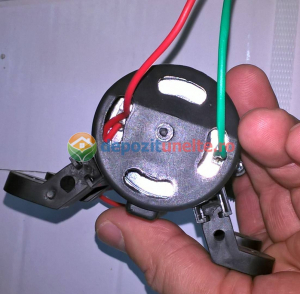Pompa de presiune cu motor de 12 Vcc pentru pompa de stropit electrica Pandora - iesire pe ștuț5