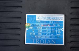 Motor electric monofazat 3.0kw, 3000rpm Troian Rosu1