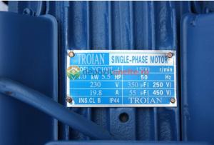 Motor electric monofazat 4kw, 1500rpm Troian Albastru [1]