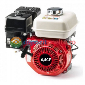 Motor in 4 timpi alimentat cu benzina 6,5 CP 3600 rot/min0