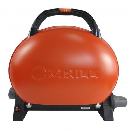 Gratar portabil pe gaz, O-GRILL 500, 2.7 kW, portocaliu, 211 g /h [0]