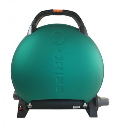 Gratar portabil pe gaz, O-GRILL 600, 3.2kW, verde, 232 g /h [0]