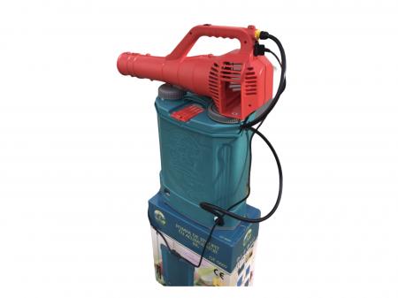 Pachet Protectia plantelor - Pompa de stropit electrica cu acumulator Pandora 16 Litri -12V 8Ah cu regulator de presiune + Atomizor electric portabil ELEFANT cu spatiu montaj acumulator ( suflanta [2]