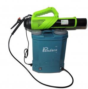 Pachet Protectia plantelor -  Pompa de stropit electrica cu acumulator Pandora 20 Litri -12V 8Ah cu regulator de presiune  + Atomizor electric portabil ( suflanta cu pulverizare)2