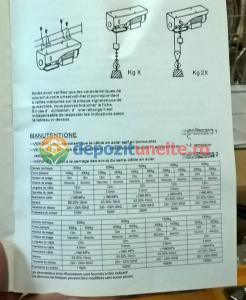 PALAN ELECTRIC 200 KG ( Macara / Lift cu cablu de otel, troliu) PA 200 [6]