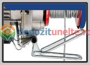PALAN ELECTRIC 200 KG ( Macara / Lift cu cablu de otel, troliu) PA 200 [8]