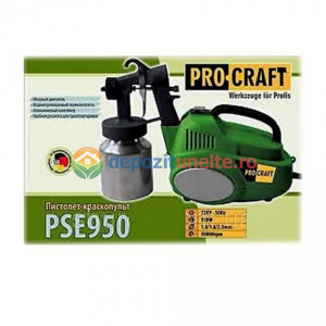 PISTOL DE VOPSIT PROCRAFT PSE950, 950W2