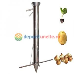 Plantator rasaduri, rosii, ardei, bulbi, cartofi INTEGRAL din INOX - CALITATE PREMIUM [0]