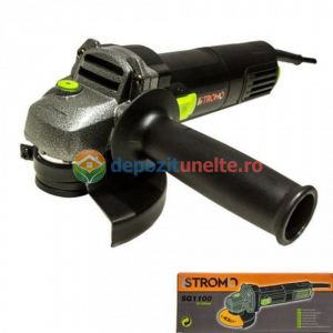 Polizor unghiular 1100W, 125mm, STROMO SG1100 , Flex0
