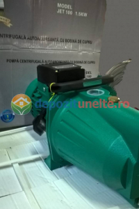 "Pompa apa de suprafata JET100L , 1500W, 1"" tol, 9 m 100% CUPRU4"