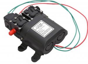 Pompa de apa cu presostat incorporat, autoamorsata, avand un corp dublu, alimentata la 12V cc, 3A  cu un debit de 8 litri / minut; Putere de 6.9bar (110PSI)6
